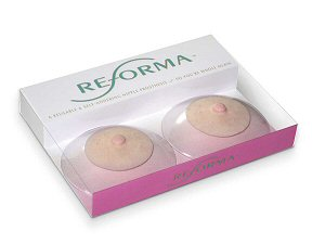 Packaging for Reforma Cosmetic Prosthetic Nipples